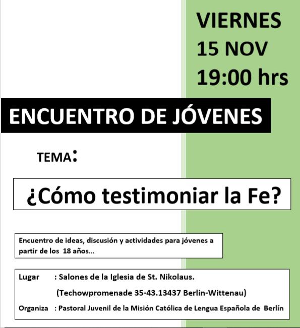 Flyer encuentro noviembre 2019