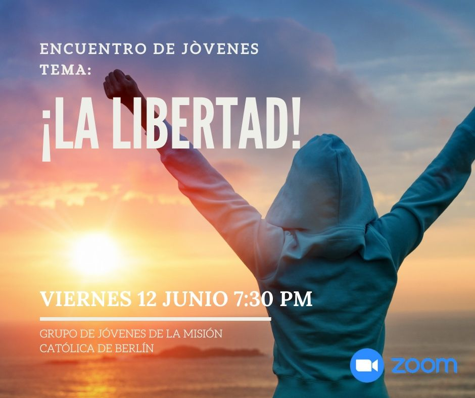 ENCUENTRO DE JÓVENES VIRTUAL  05 Junio 2020
